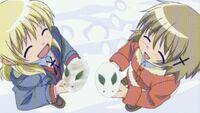 Hidamari Sketch Wikia - Season One (A Winter's Collage - 261)