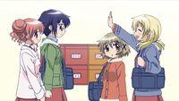 Hidamari Sketch Wikia - Season One (A Winter's Collage - 062)