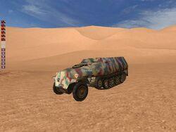 SdKfz 251 (hamada al-Hamra)
