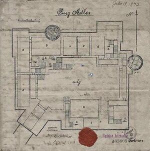 Adler Castle Map