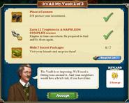 Quest It's All My Vault 2-Tasks