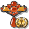 Quest Task Trophy Carnelian Necklace-icon