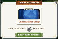 Scene Unlocked Conquistador Camp