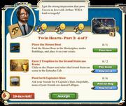 Quest Twin Hearts Part Three 4-Tasks