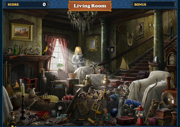 FastFind Scene Living Room