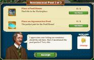 Quest Sentimental Pool 1-Tasks