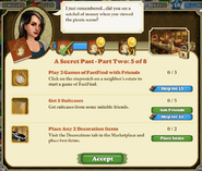 Quest A Secret Past-Part Two 5 of 8-Tasks
