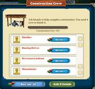 Moonshine Still Construction Crew