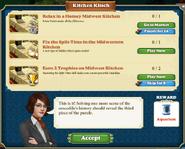 Quest Kitchen Kitsch-Tasks