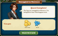 Quest Smuggled to Morocco-Rewards