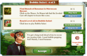 Quest Bubble Safari 4-Tasks
