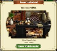 Scene Unlocked Professor's Den
