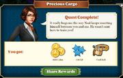 Quest Precious Cargo-Rewards
