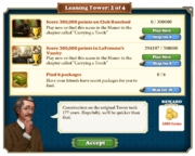 Quest Leaning Tower 2-Tasks