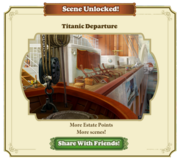 Scene Unlocked Titanic Departure