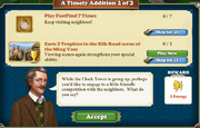 Quest A Timely Addition 2-Tasks