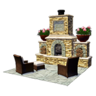 Questitem Outdoor Fireplace-icon