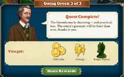 Quest Going Green 3-Rewards