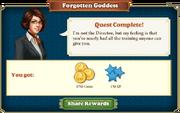 Quest Forgotten Goddess-Rewards