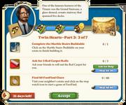 Quest Twin Hearts Part Three 3-Tasks