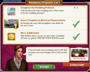 Quest Romantic Proposal 3-Tasks