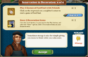 Quest Innovation in Decoration 4-Tasks