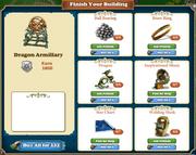 Freeitem Dragon Armillary Sphere-building