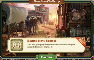 Guardian challange new scene