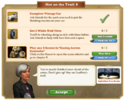 Quest Hot on the Trail 9-Tasks