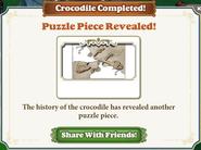 Symbol Crocodile Completed