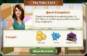 Quest The Ville 5-Rewards