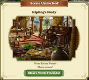 Scene Unlocked Kipling's Study