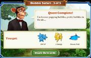 Quest Bubble Safari 3-Rewards