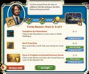 Quest Twin Hearts Part Three 6-Tasks