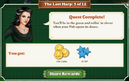 Quest The Lost Harp 5 Rewards