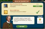 Quest Groovin'Gazebo 1-Tasks