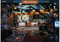 Scene CBS Newsroom-Map