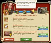 Quest The Lucky Bear Part One 6-Tasks