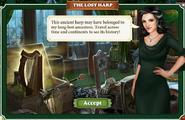 Artifact Ancient Harp-Screen