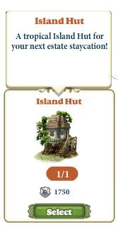Freeitem Island Hut-info