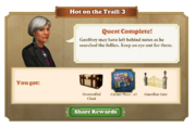 Quest Hot on the Trail 3-Rewards