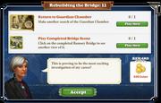 Quest Rebuilding the Bridge 11-Tasks