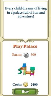 Marketplace Play Palace-infos