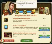 Quest Ring of Truth-Part One 6-Tasks