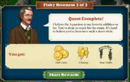 Quest Fishy Business 3-Rewards