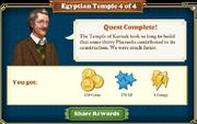 Quest Egyptian Temple 4-Rewards