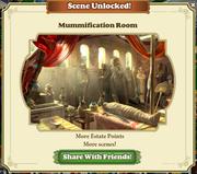 Scene Unlocked Mummification Room
