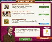 Quest Wedding Vows 1-Tasks