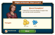 Quest Flight of Garuda Part One 5-Rewards