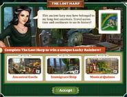 The Lost Harp-Screen